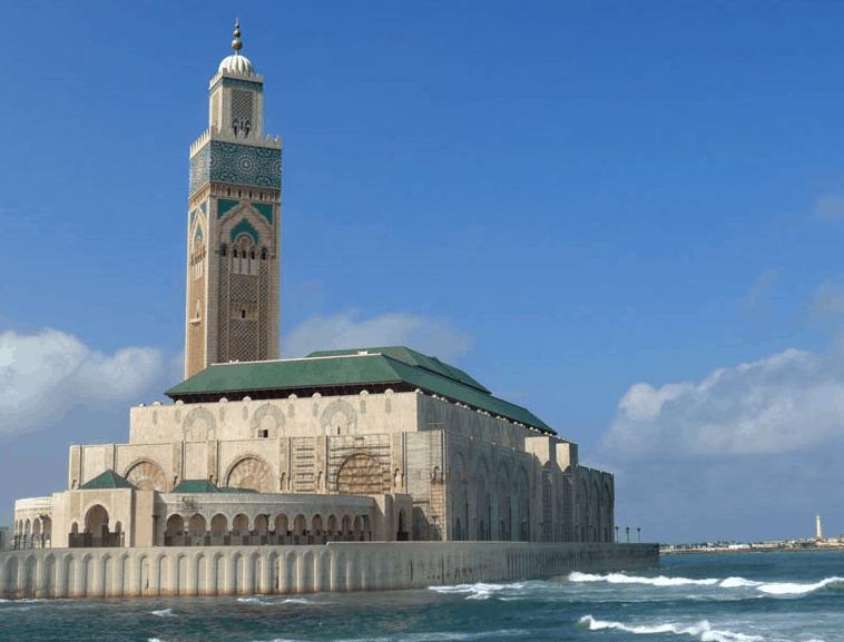 Masjid Hassan II, Maroko