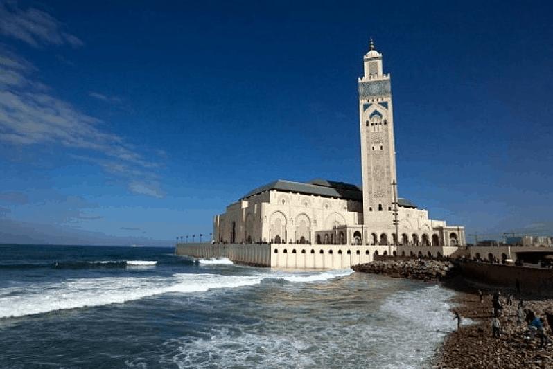 Masjid Hassan II Maroko
