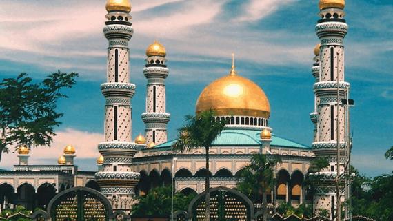 Masjid Indah di Brunei Darussalam