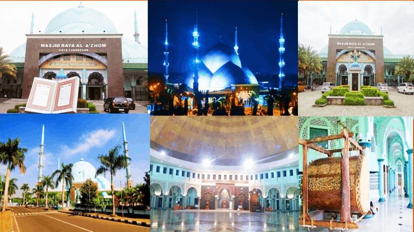 Masjid Raya Al A'zhom, Tangerang