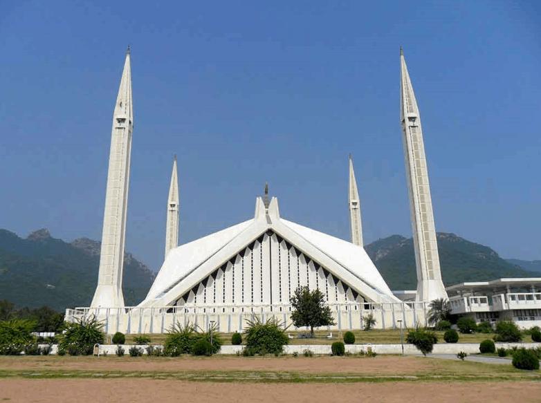 Masjid Shah Faisal Islamabad di Pakistan