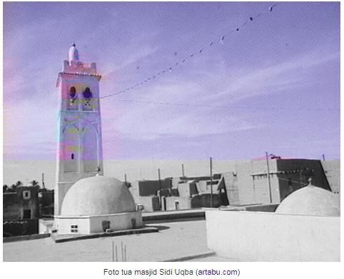 arsitektur masjid sidi uqba