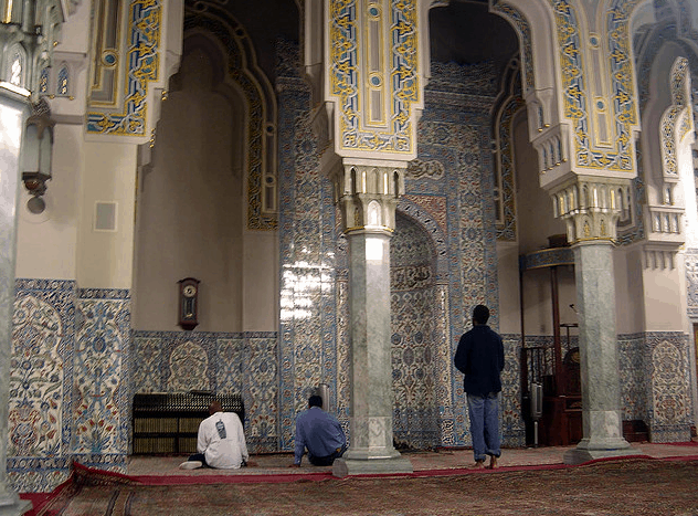 arsitektur masjid washington dc