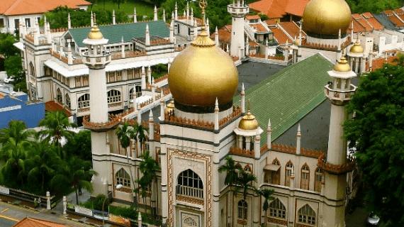 Masjid Sultan Singapura Memiliki Arsitektur yang Indah