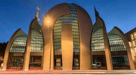 Masjid Modern Sentral Cologne Jerman