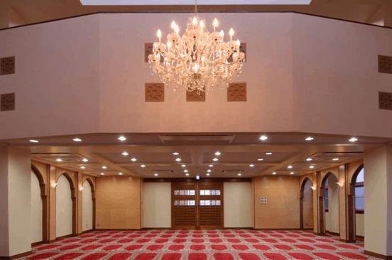 interior Masjid Fukuoka