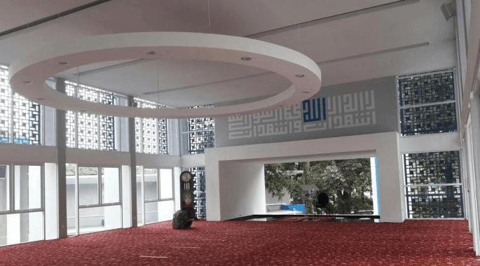 interior Masjid Maaimmaskuub Bandung