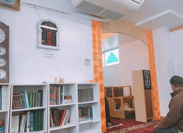 interior masjid asakusa