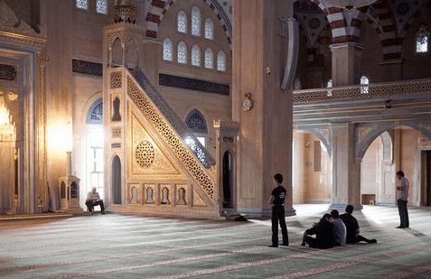 mihrab masjid akhmad kadyrov