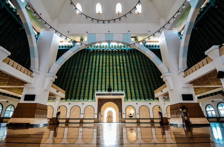 mimbar Masjid Agung Jawa Tengah