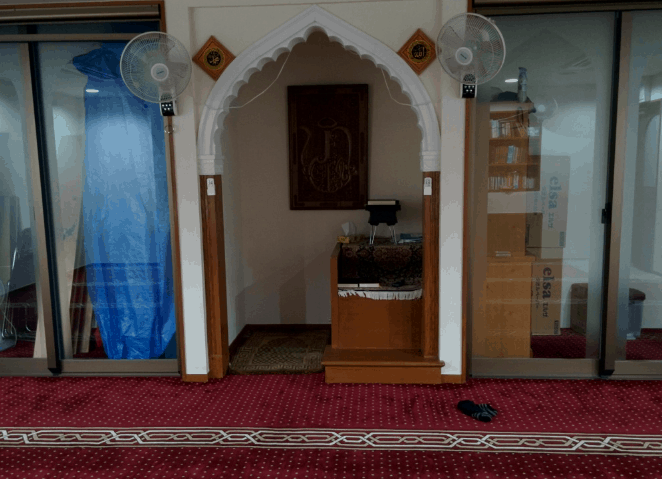 mimbar masjid hira