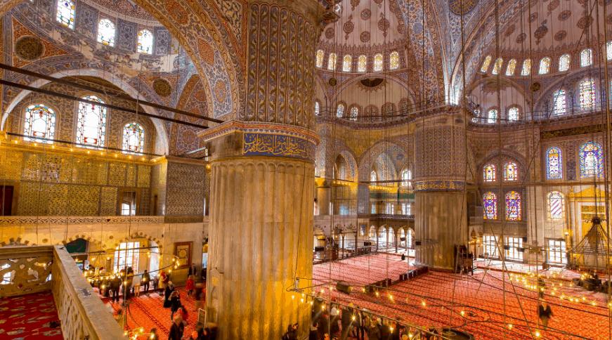 pilar masjid sultan ahmed
