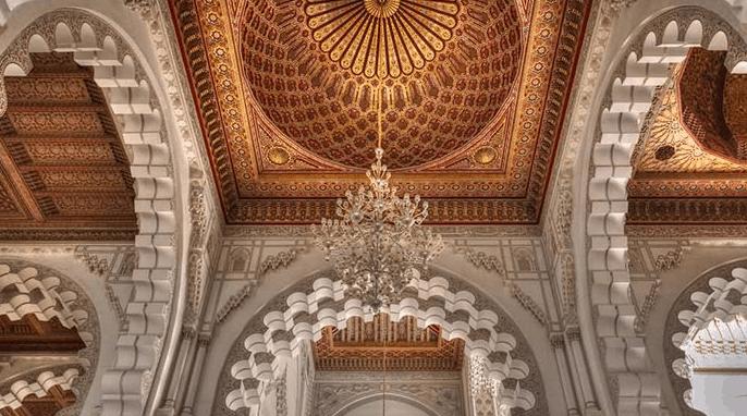 ukiran Masjid Hassan II