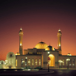 Pesona Arsitektur Masjid Agung Al Fateh Bahrain