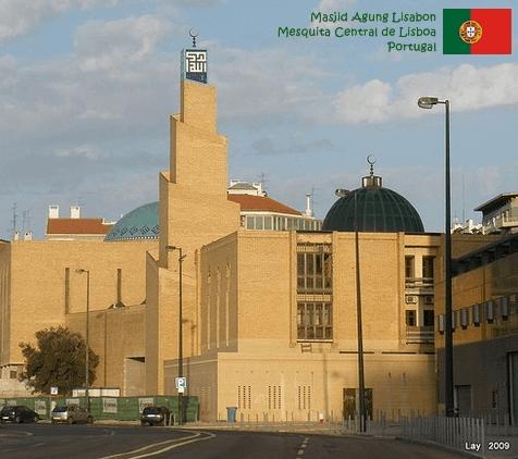 Masjid Agung Lisabon Portugal