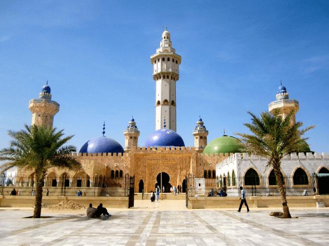 Masjid Agung Touba, Senegal