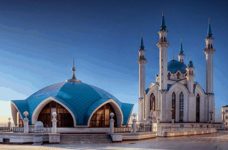Masjid Qol Sharif Kazan Rusia