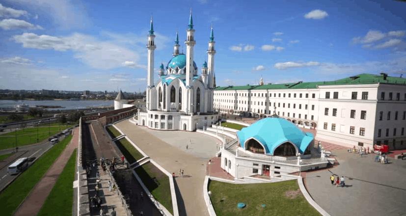 Masjid Qol Sharif Kazan Rusia1