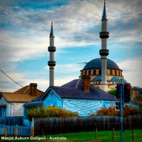 Pesona Masjid Auburn Gallipoli