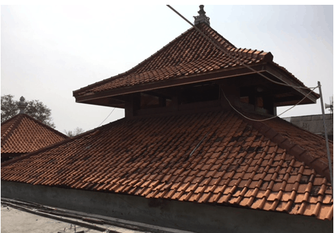 atap limas masjid al alam