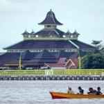 Pesona Masjid Jami Sultan Syarif Abdurrahman Pontianak