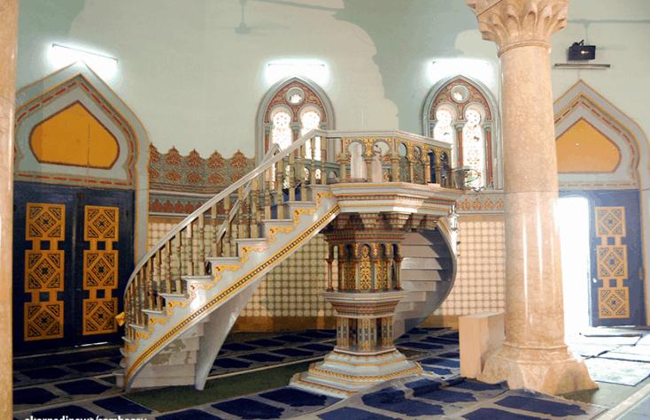 desain masjid raya al mashun
