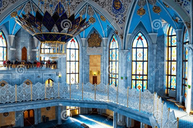 interior Masjid Qol Sharif Kazan Rusia
