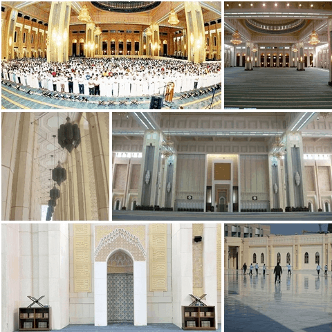 interior masjid agung kuwait