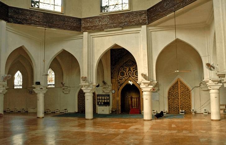 interior masjid al dahab