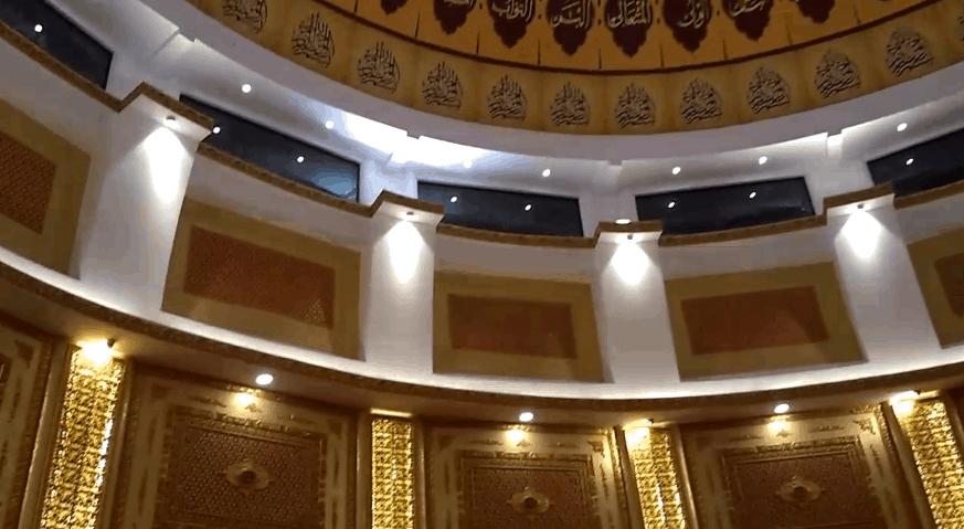 interior masjid rahmatan lil alamin