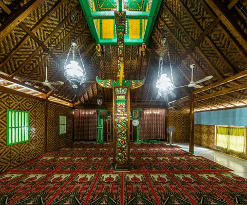 interior saka tunggal