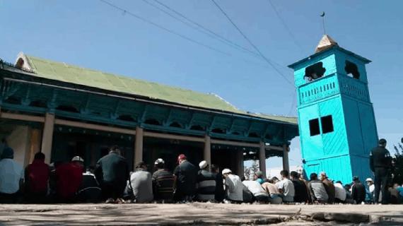 Pesona Masjid Dungan Kyrgyzstan
