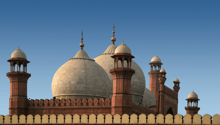 kubah Masjid Badshahi