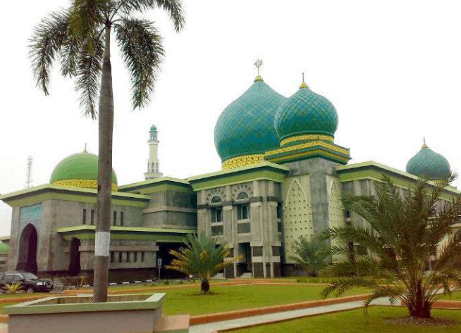 kubah masjid agung an nur