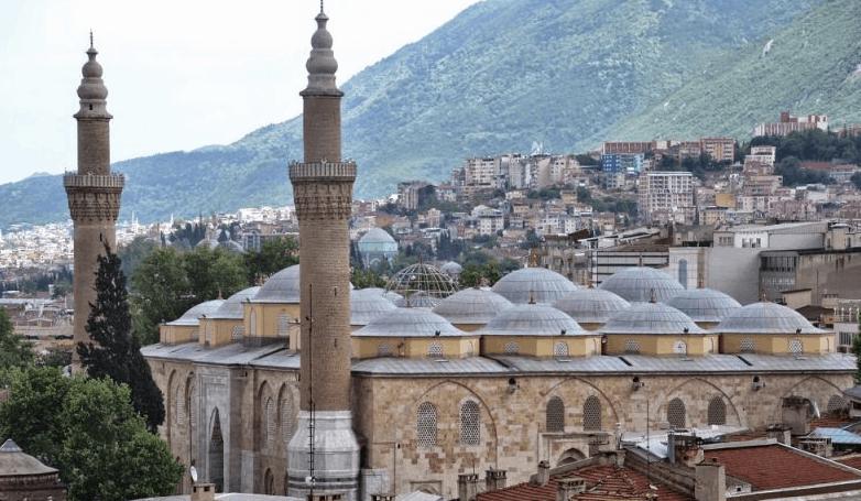 kubah masjid agung bursa