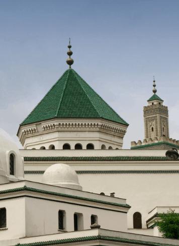 kubah masjid agung paris