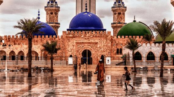 Berkah Masjid Agung Touba, Senegal