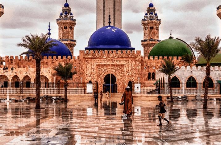 kubah masjid agung touba