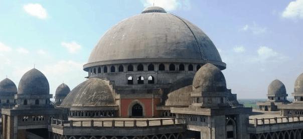 kubah masjid rahmatan lil alamin
