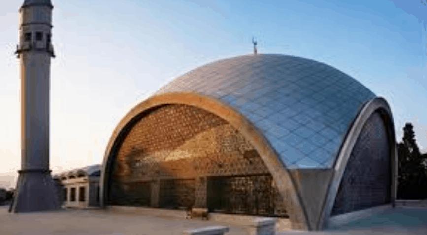 kubah masjid sakirin