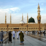 Kubah Hijau Masjid Nabawi I