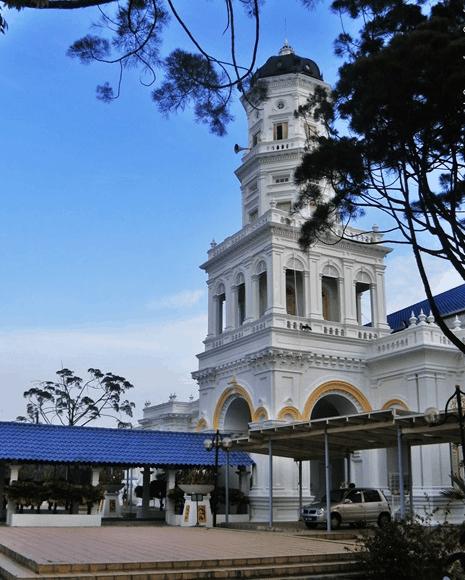 menara Masjid Jami' Sultan Abu Bakar Johor Bahru