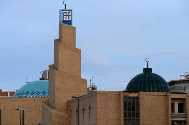 menara dan kubah masjid lisabon