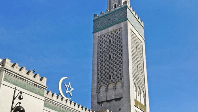 menara masjid agung paris