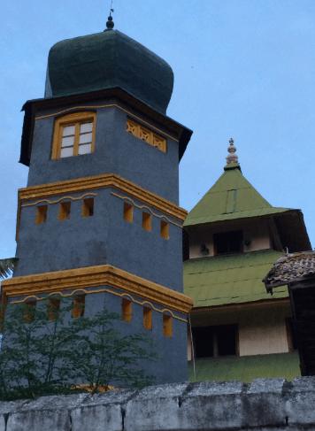menara masjid agung sumenep