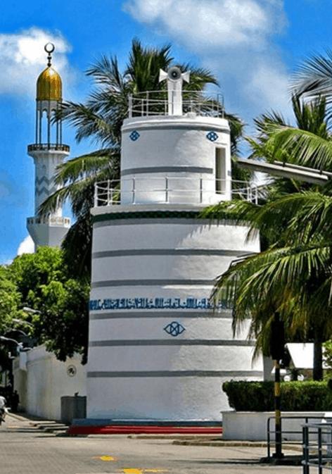 menara masjid hukuru