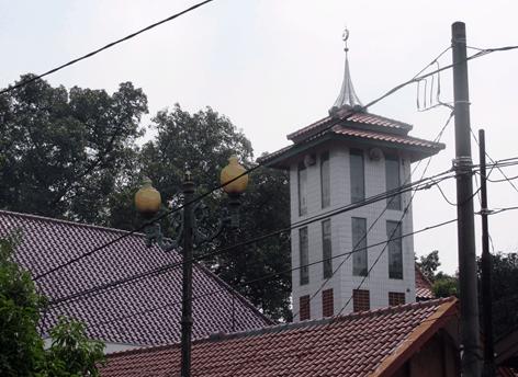 menara masjid pangeran jayakarta