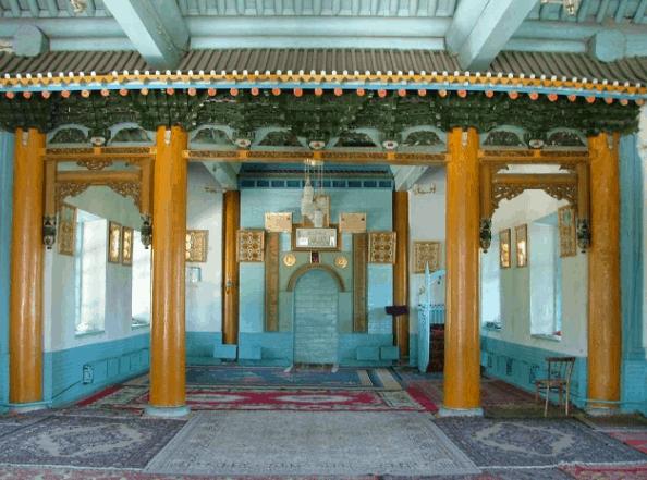 mihrab Masjid Dungan Kyrgyzstan