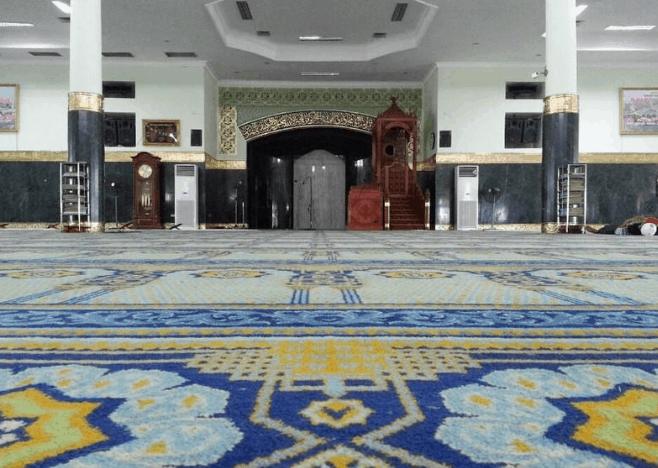 mihrab masjid agung an nur