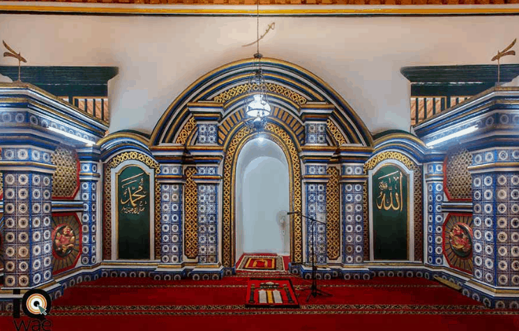 mihrab masjid agung sumenep